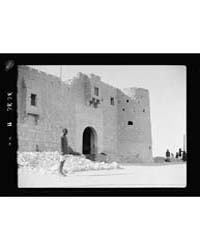 Nekhel. Ancient Pilgrim Fortress Showing... by American Colony Jerusalem